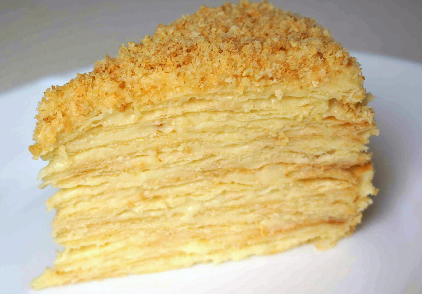 Наполеон торт рецепты